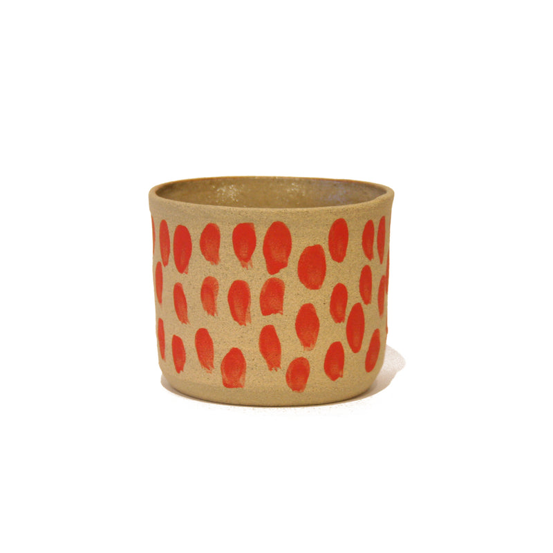 Small Splodge Ceramic Pot