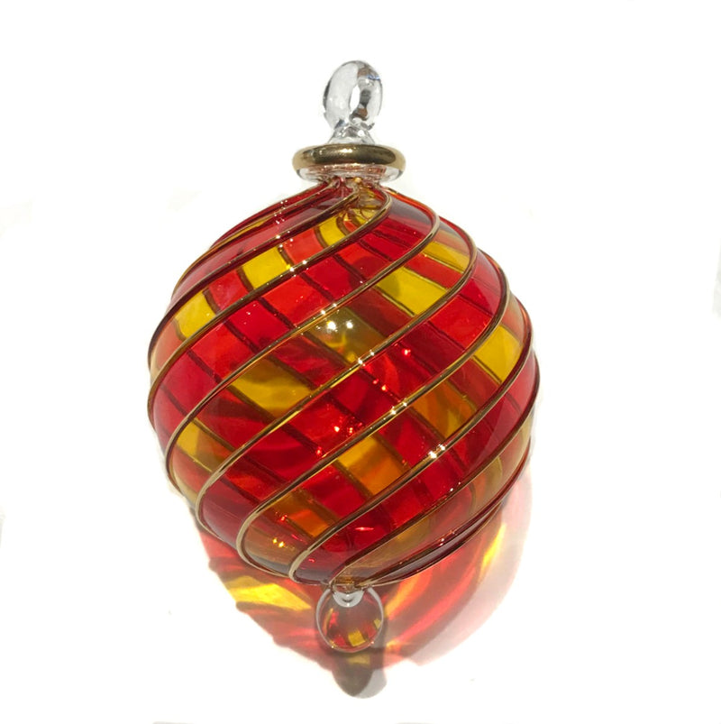 Candy Swirl Bauble