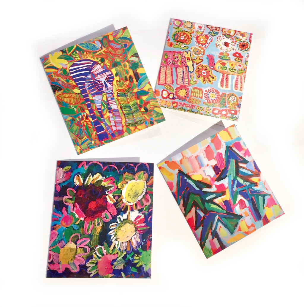 Colourful Card Set