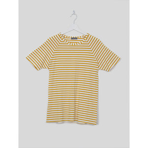 Darcey Striped T-shirt in Mustard