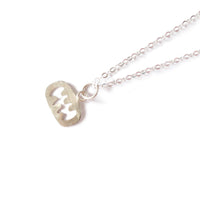Little Silver 'Smile' Necklace