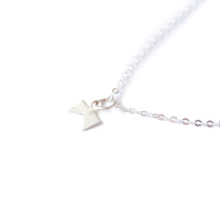 Little Silver 'Forked-Tree' Necklace