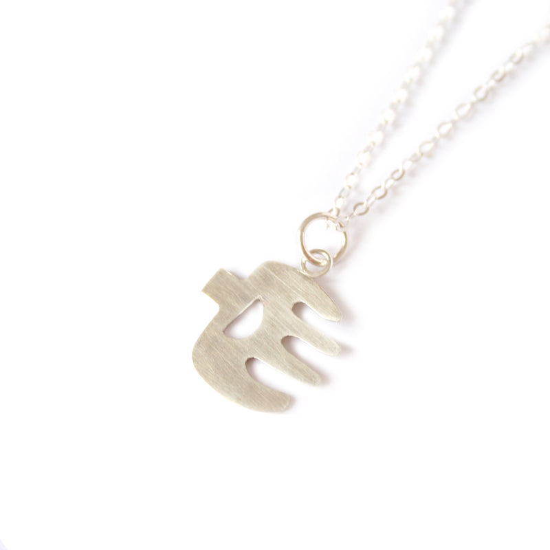 Little Silver 'Hands' Necklace
