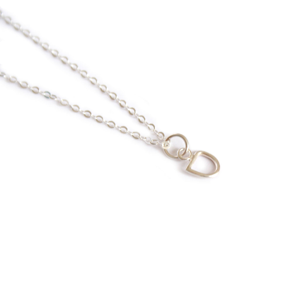 Little Silver 'Mask' Necklace