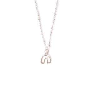 Little Silver 'Lobe' Necklace