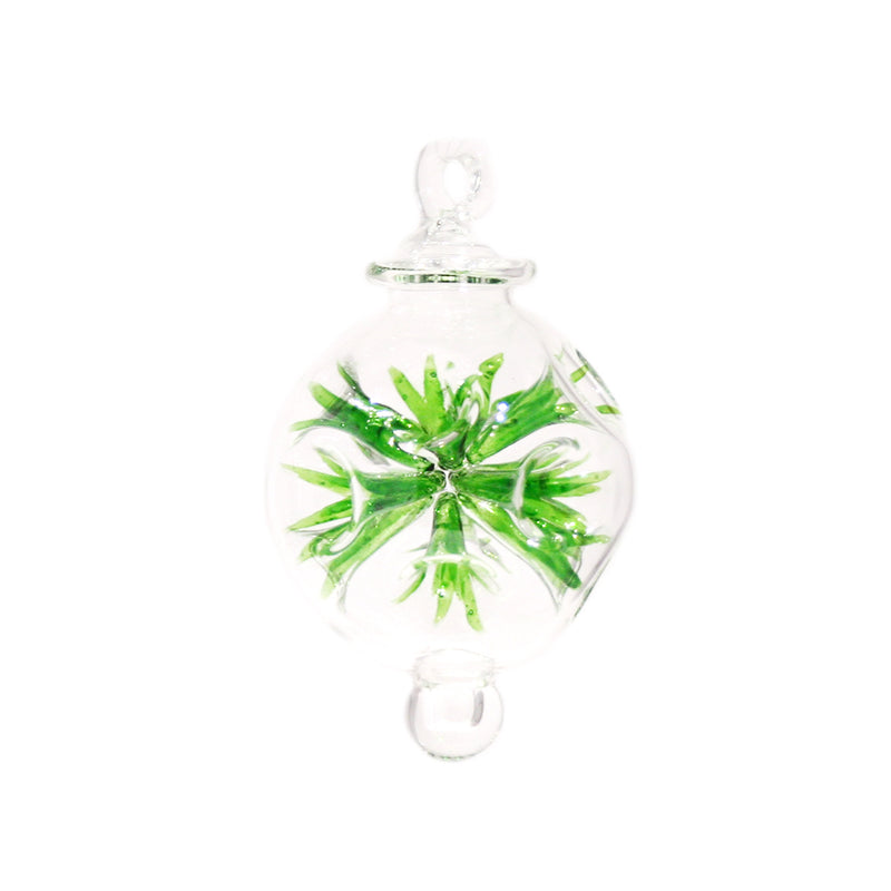 Fiesta Bauble in Green, Small