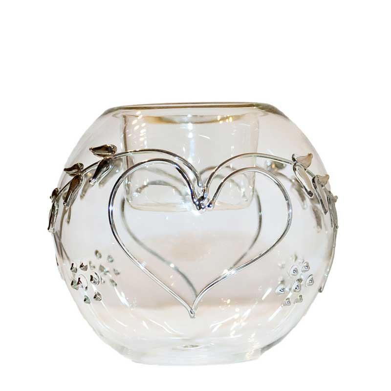 Silver Forever Votive