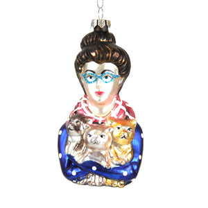 Cat Lady Decoration