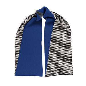 Graphic Scarf - Cobalt