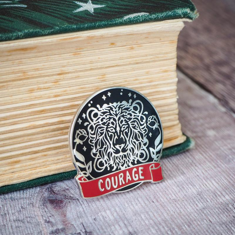 Courageous Lion - Magical House Enamel Pin