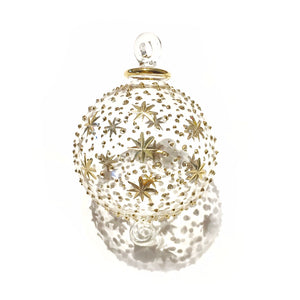 Gold Heaven Hand-Blown Glass Bauble