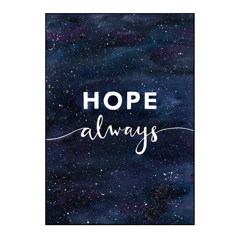 'Hope Always' Watercolour Art Print