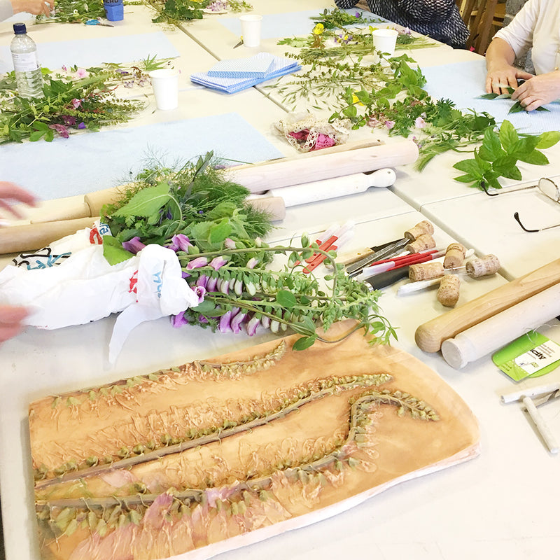 Botanical Tile Workshop - 4th July 2020