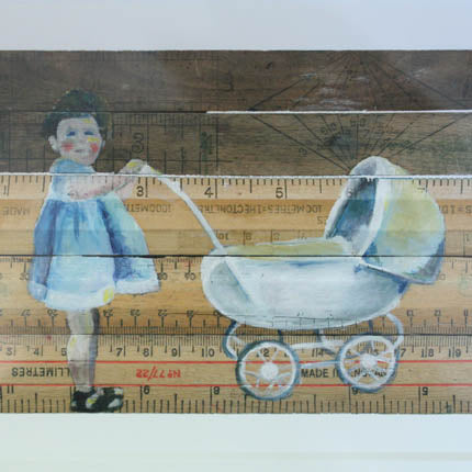 'Keeping Mum' Giclee Print