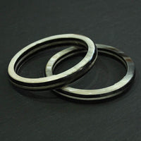 Layered Horn Bangle