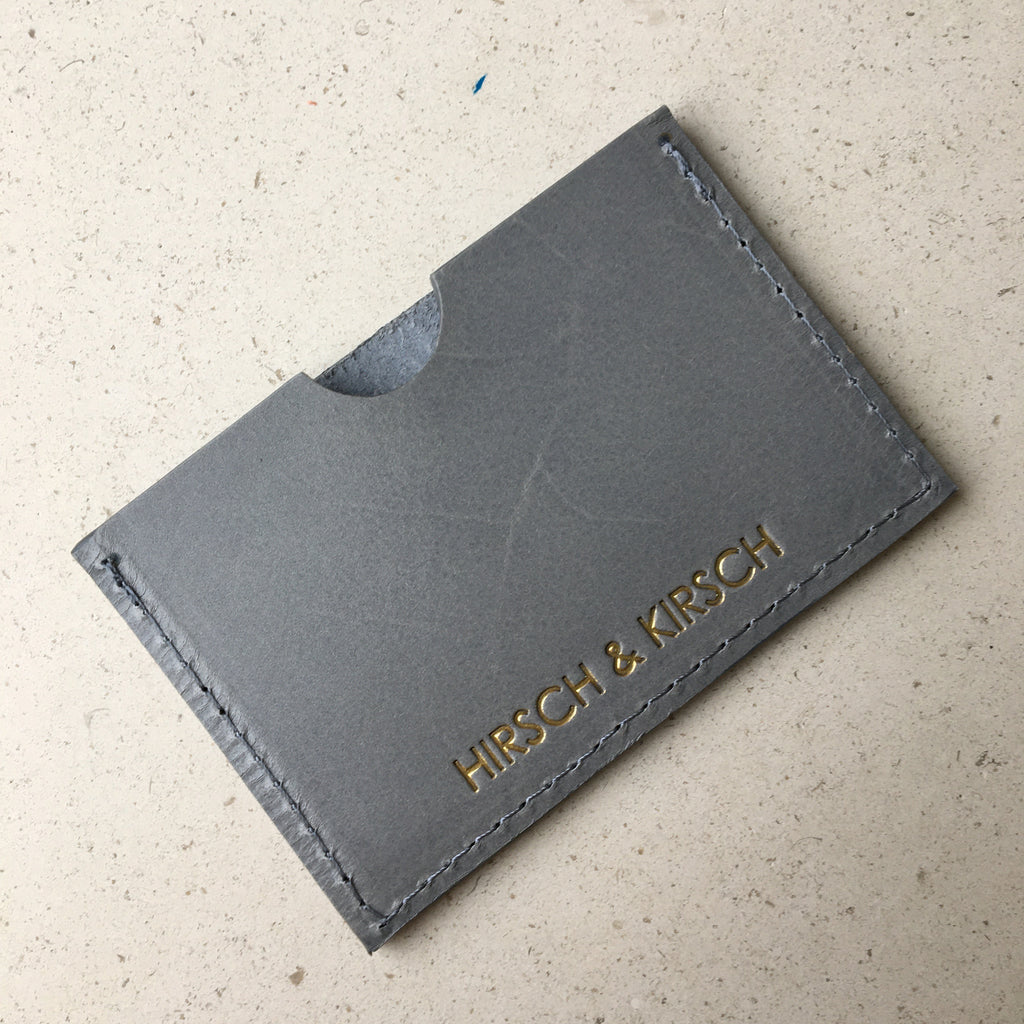 Grey Card Holder
