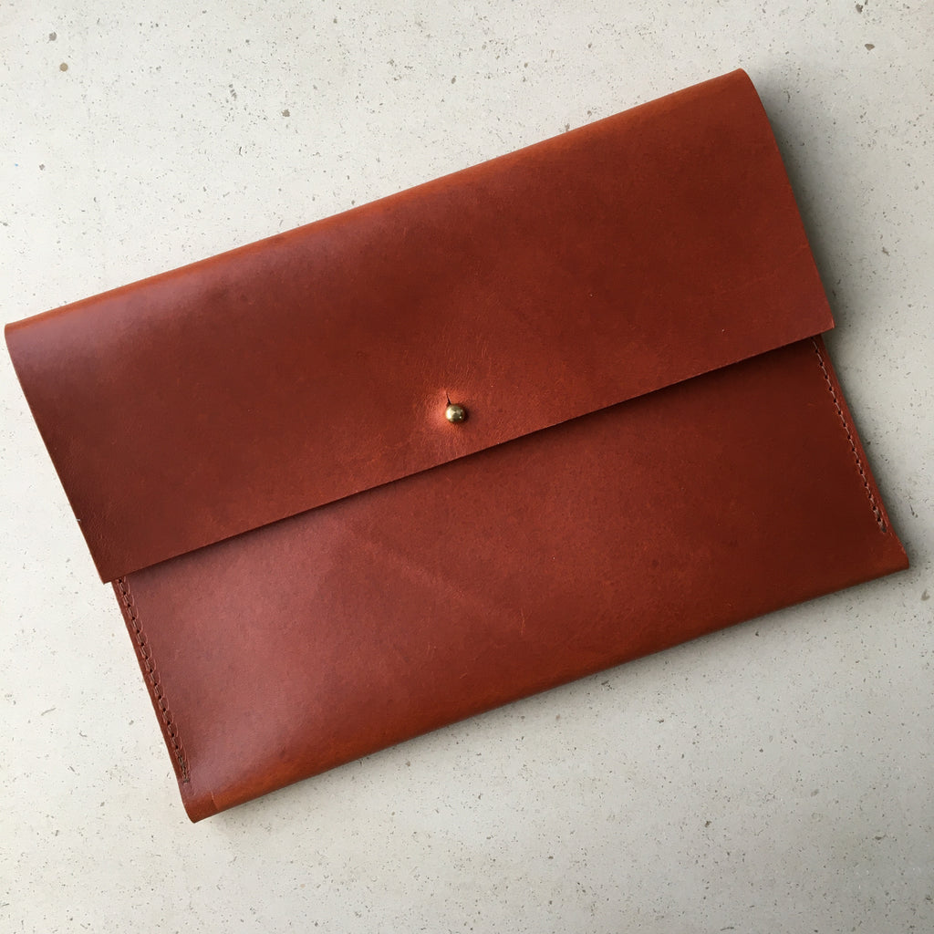 Large Pouch - Brown