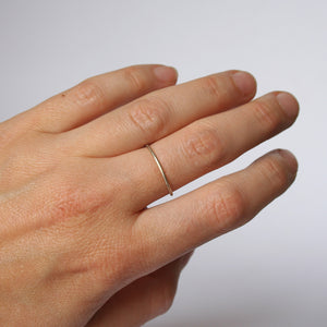 Delicate White Gold Ring