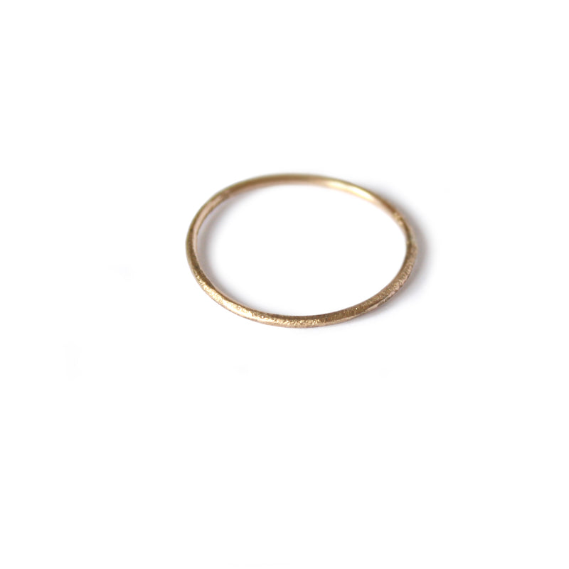 Delicate Yellow Gold Ring