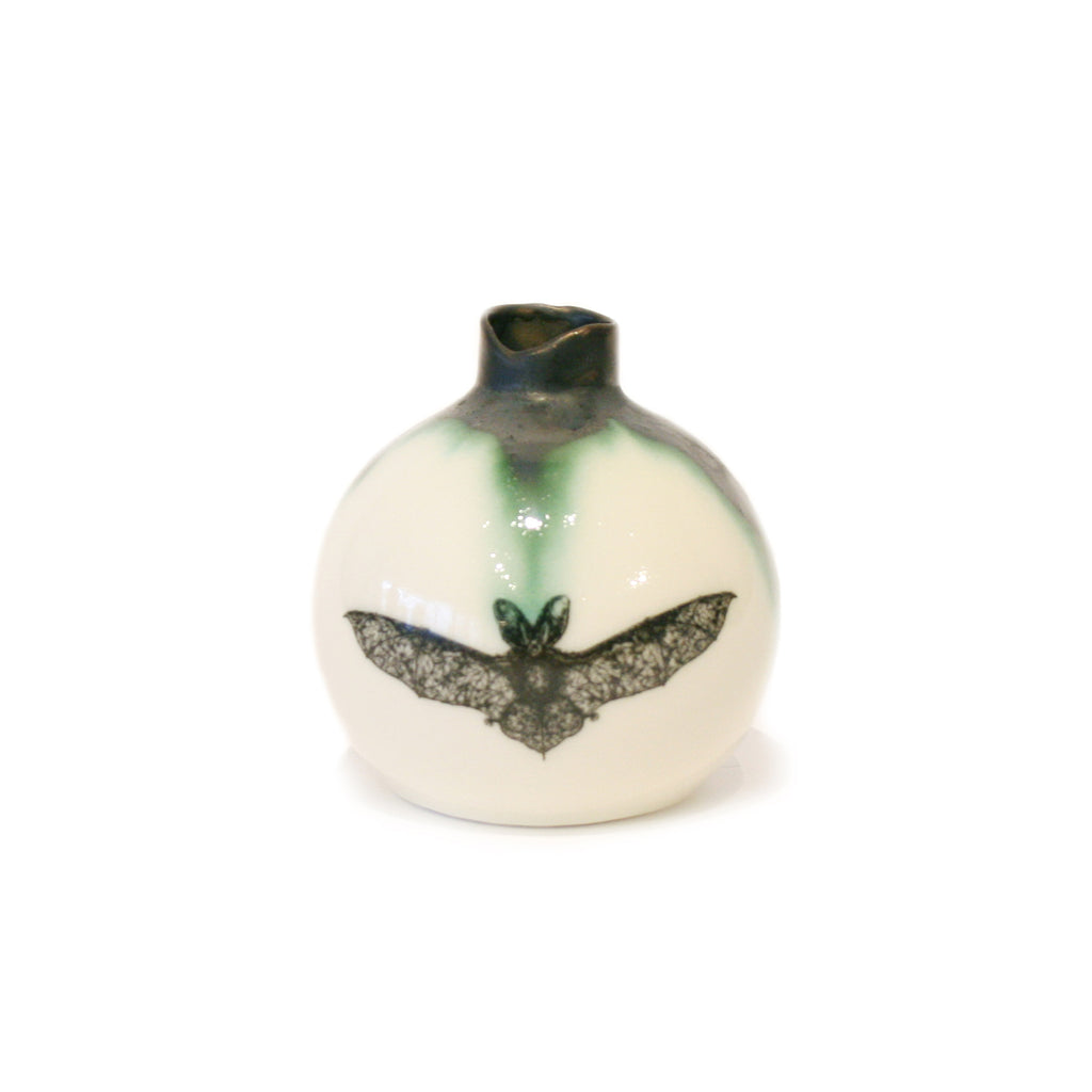 Bat Illustrated Ball Flask