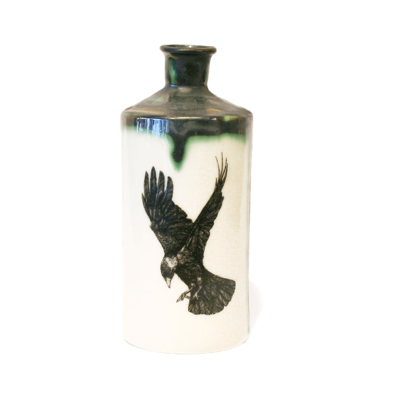 Rook Illustrated Apothecary Bottle