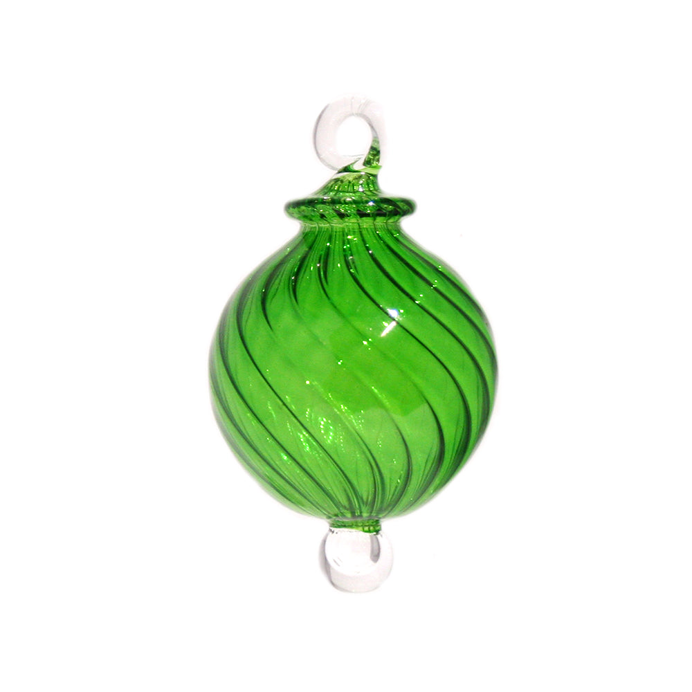 Jewel Bauble in Green, Small