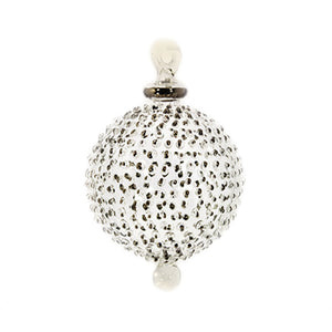 Small Silver Jubilee Bauble
