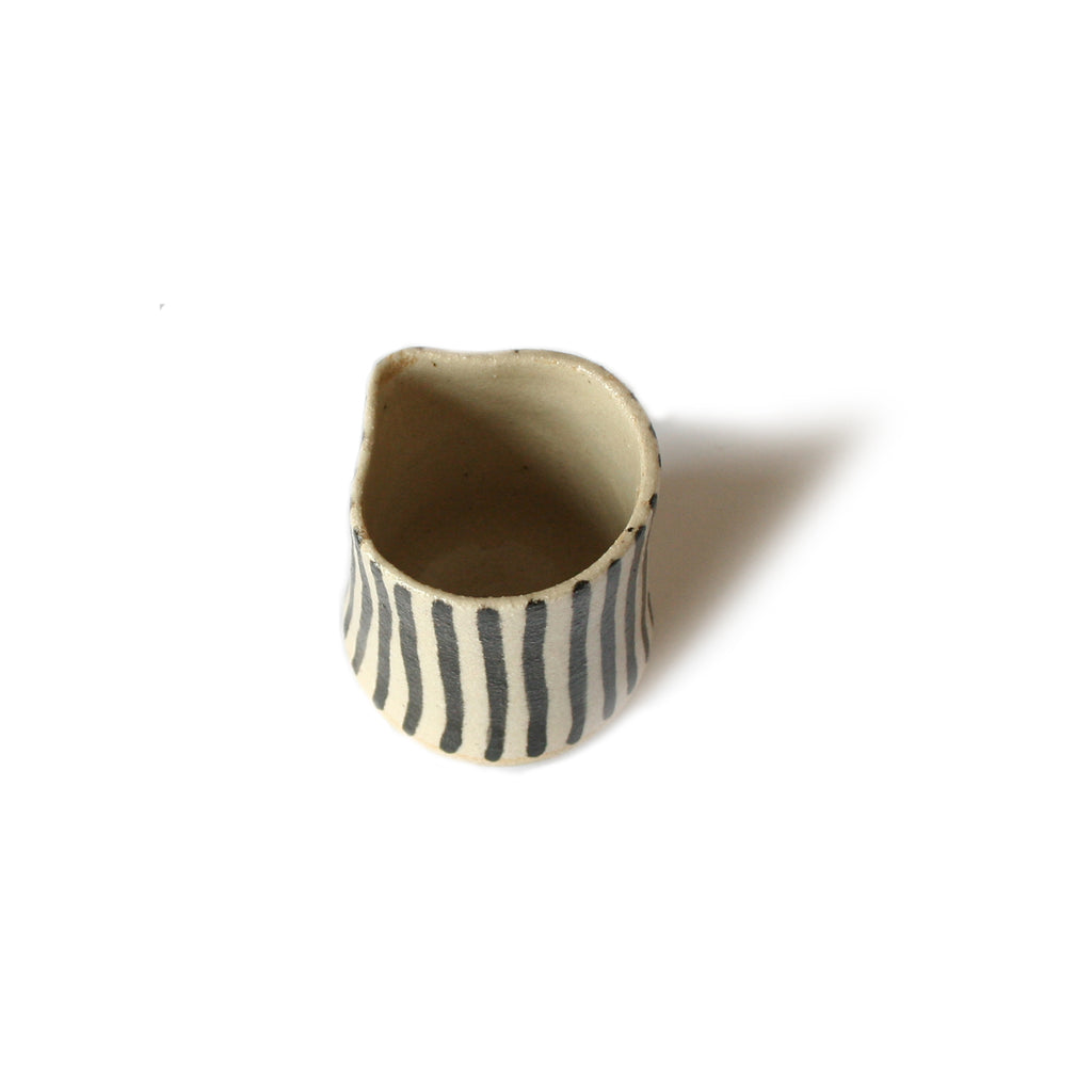 Small Striped Jug