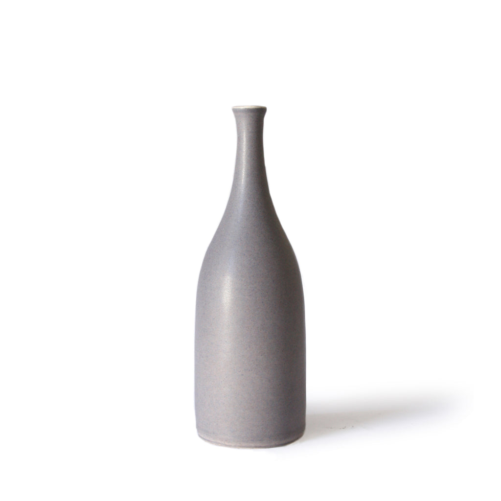 Slate Grey Bottle Vase