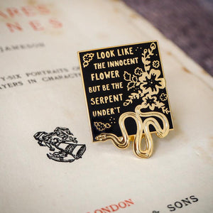 Shakespeare's Lady Macbeth Enamel Pin