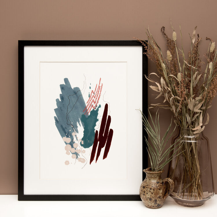 Leola Watercolour Art Print