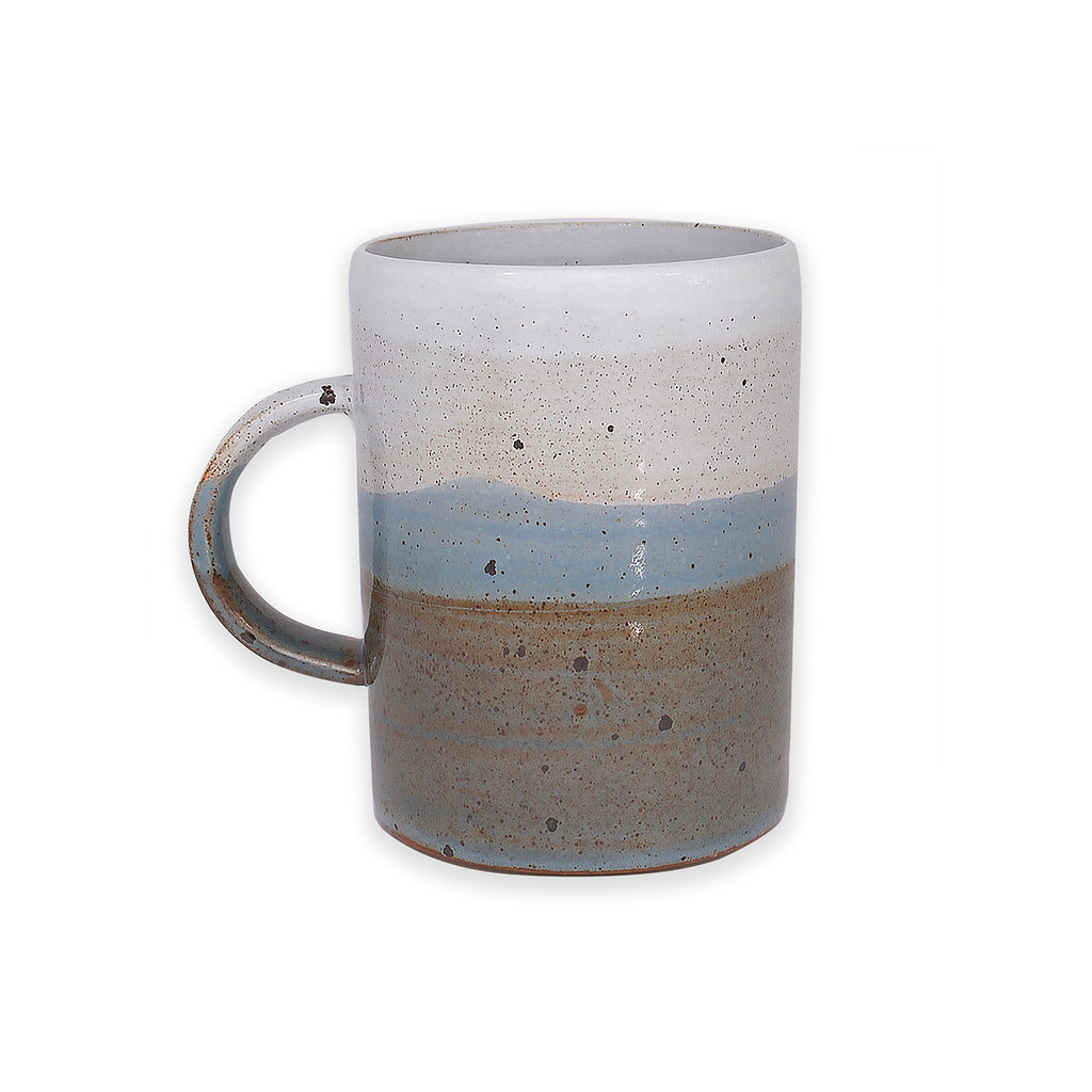 Tall Hazy Skyline Dipped Mug