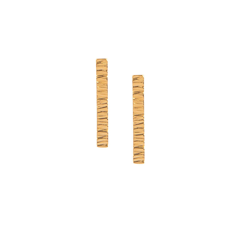 Long Allied Gold Studs