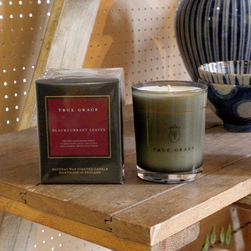 True Grace Blackcurrant Leaves Candle