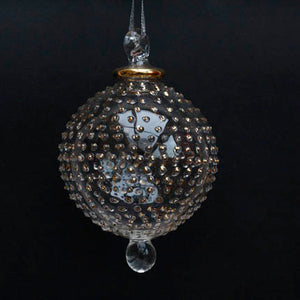 Gold Hand-Blown Jubilee Bauble