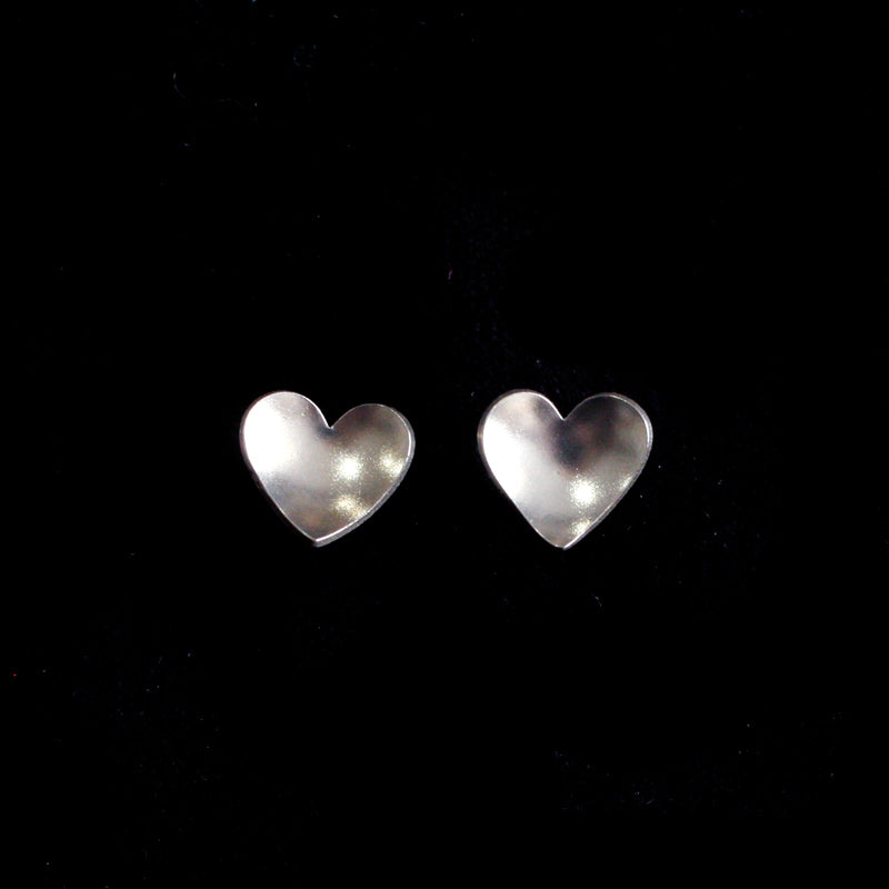 Small Heart Studs