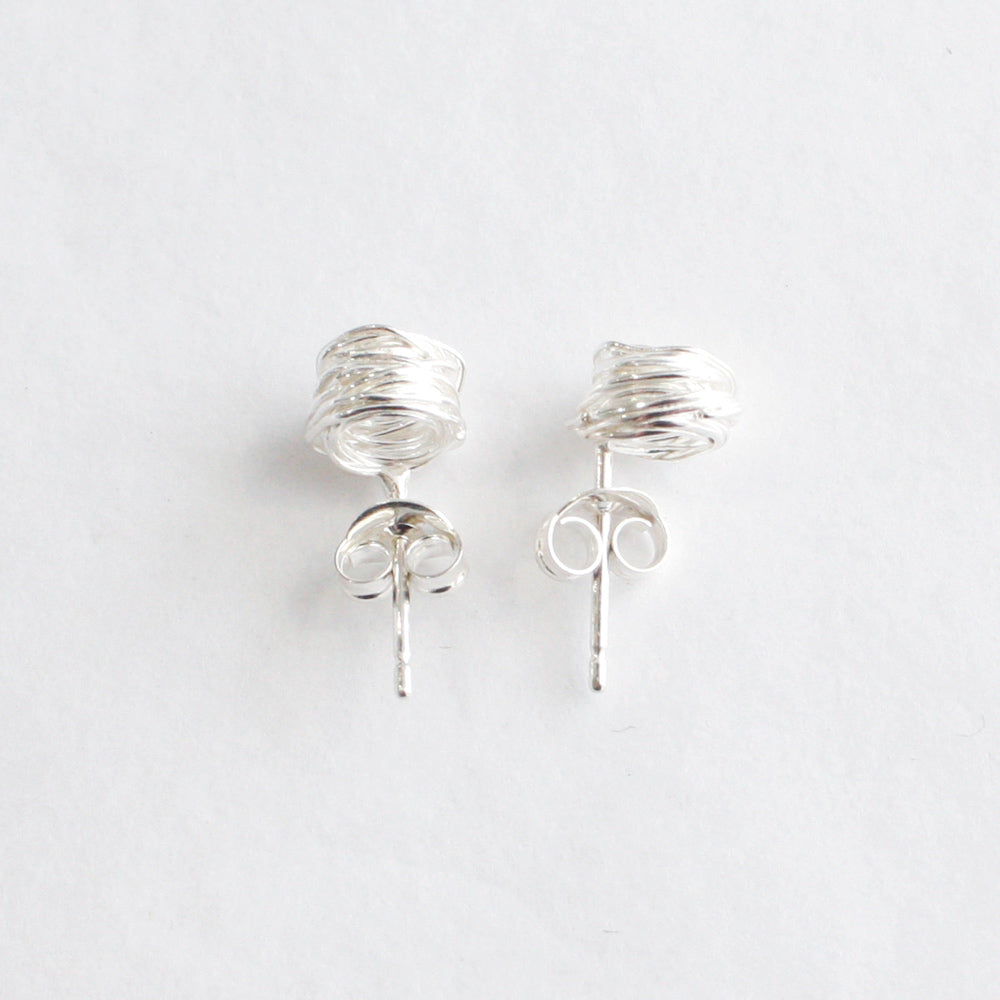 Silver Wrap Studs, Large