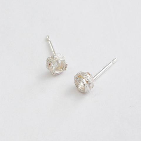 Silver Wrap Studs, Small