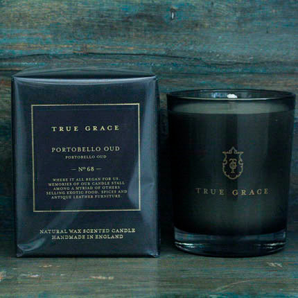 True Grace Portobello Oud Candle