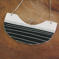 Block Bib Necklace