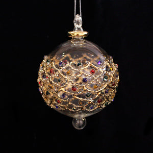 Treasure Hand Blown Glass Bauble