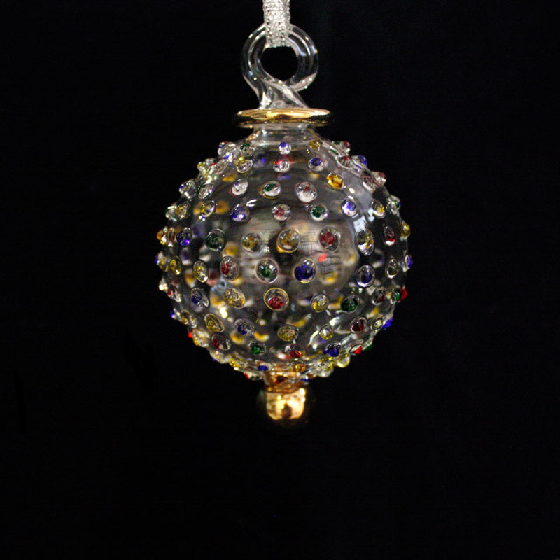 Small Multi Coloured Jubilee Bauble