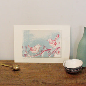 Two Birds Screen Print