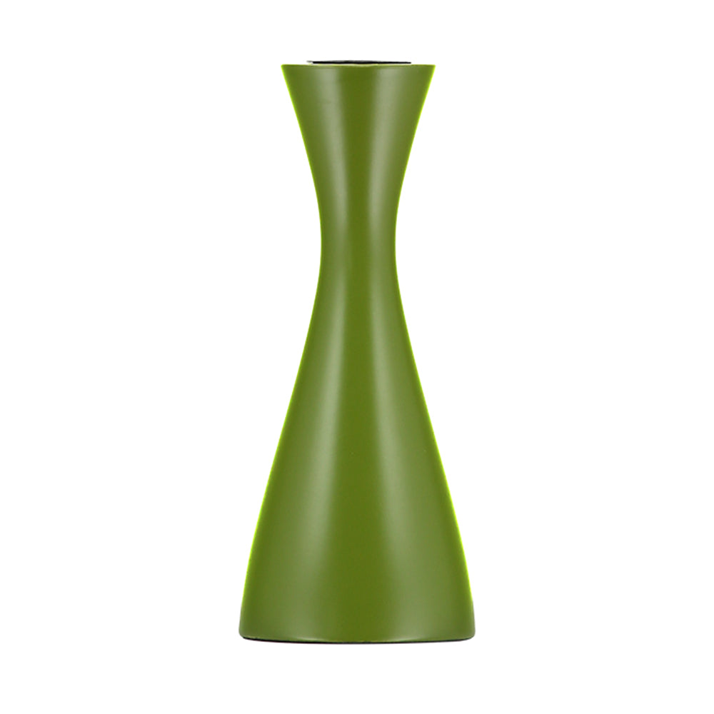 Medium Olive Green Candleholder