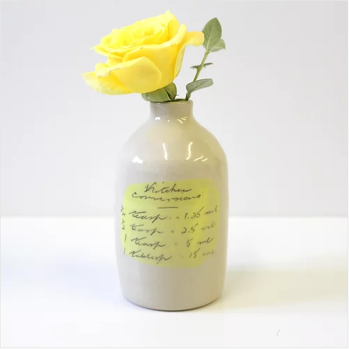 Milk Bottle - Yellow