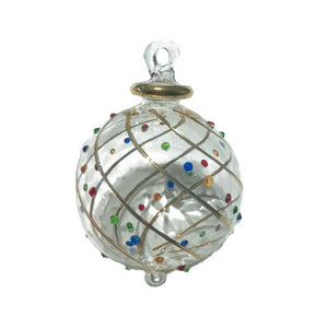 Mistral Multi Dot Hand-Blown Bauble