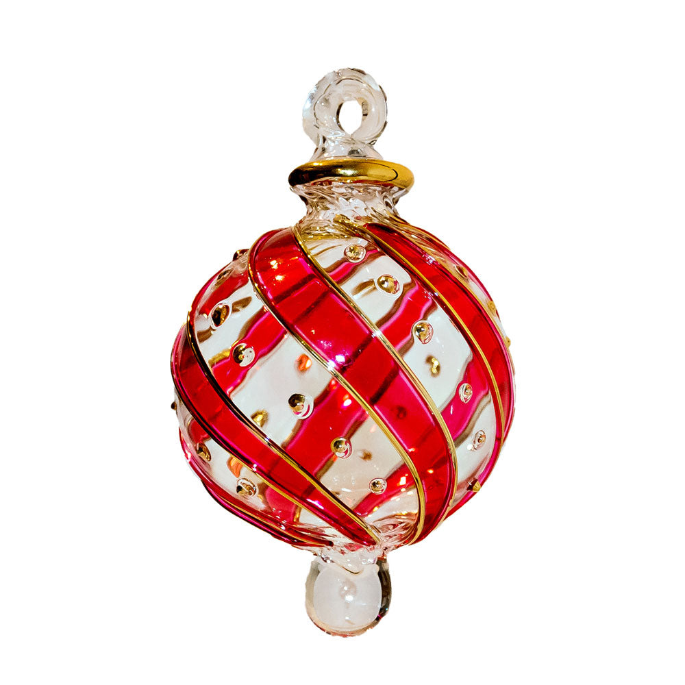 Small Red Mistral Bauble
