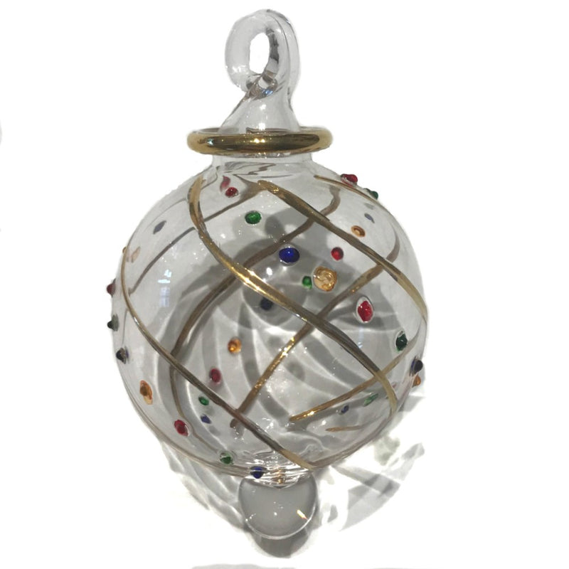 Small Multi Dot Mistral Bauble