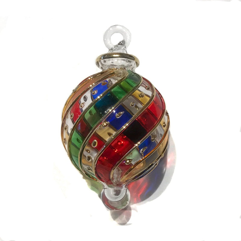 Small Multi-Coloured Mistral Bauble
