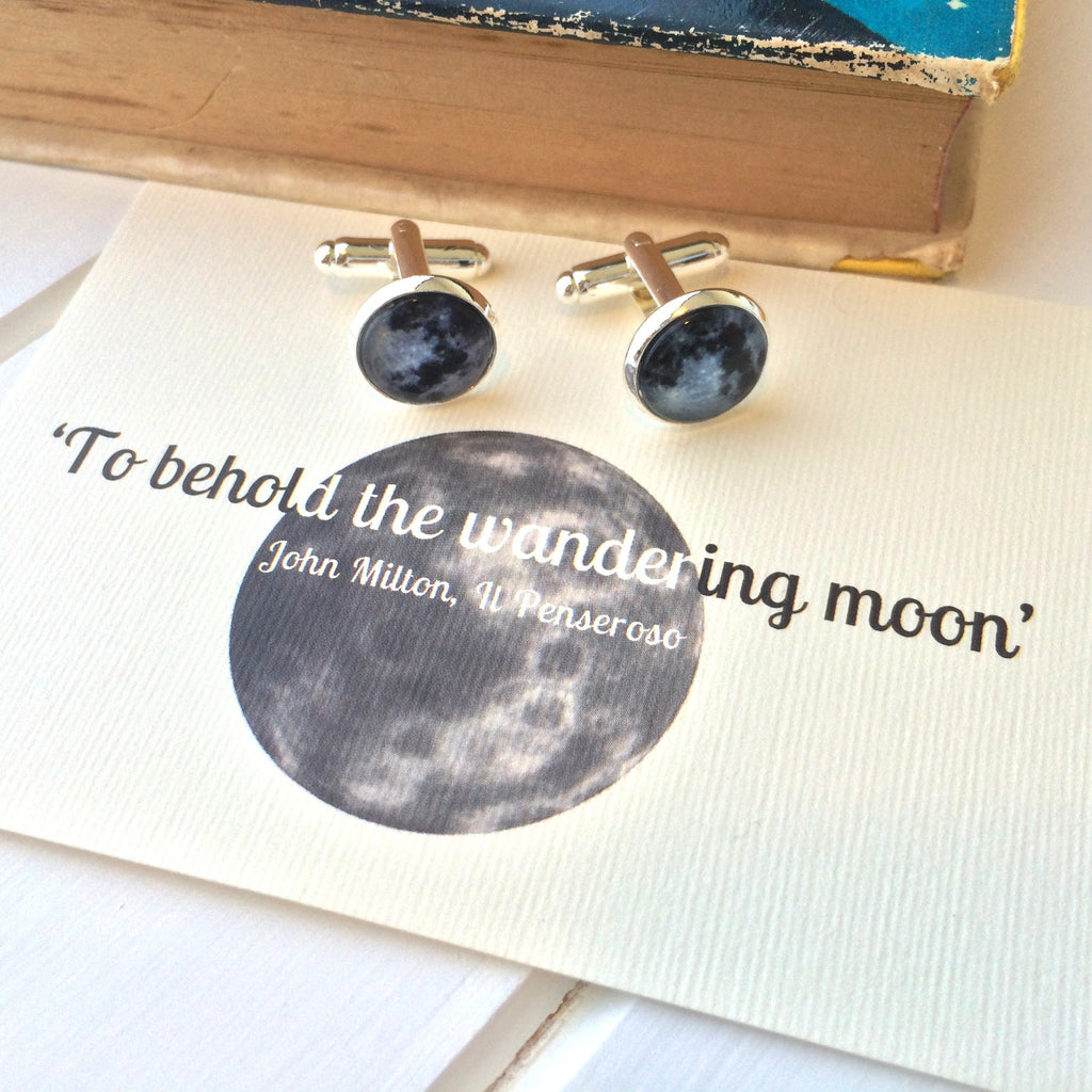 Milton Moon Cufflinks